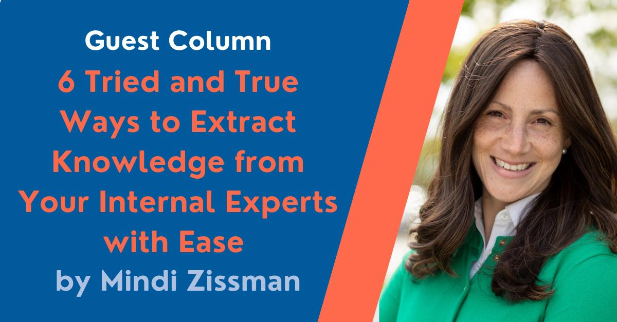 Guest Column by Mindi Zissman